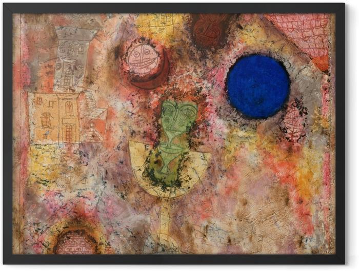 Gerahmtes Poster Paul Klee - Zaubergarten - Reproduktion