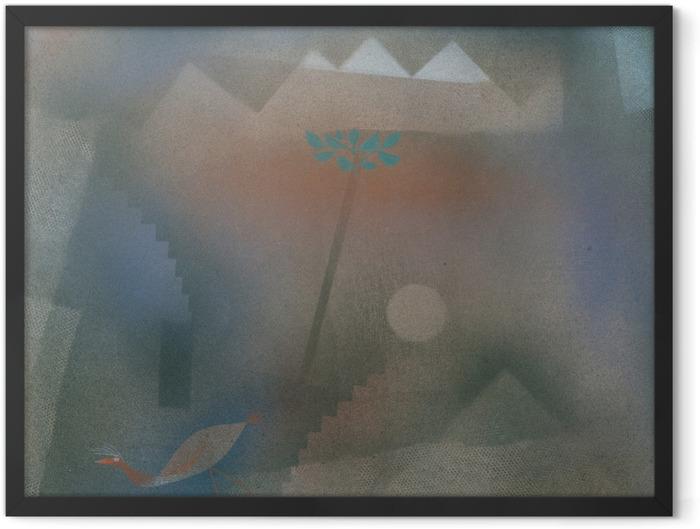 Gerahmtes Poster Paul Klee - Abwandernder Vogel - Reproduktion