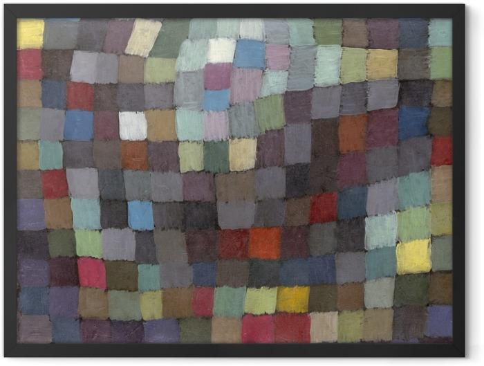 Plakat w ramie Paul Klee - Majowy obraz - Reprodukcje