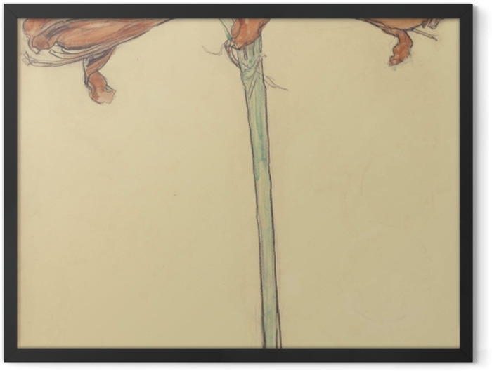 Poster en cadre Piet Mondrian - Amaryllis - Reproductions