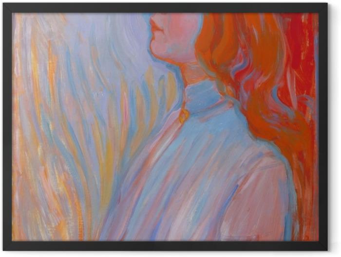 Gerahmtes Poster Piet Mondrian - Devotion - Reproduktion