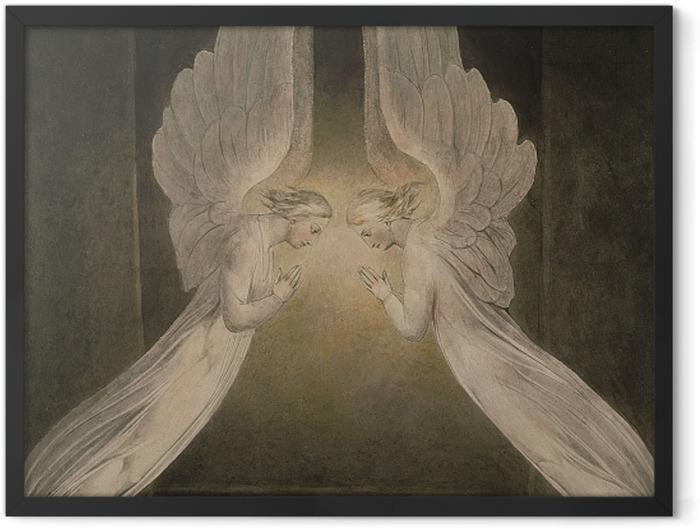Plakat w ramie William Blake - Chrystus złożony do grobu - Reprodukcje