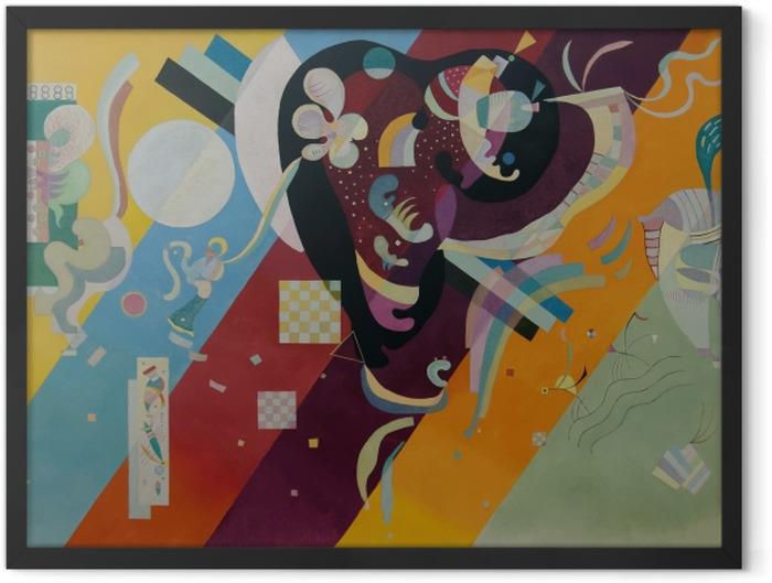 Plakat w ramie Wassily Kandinsky - Kompozycja X - Reprodukcje