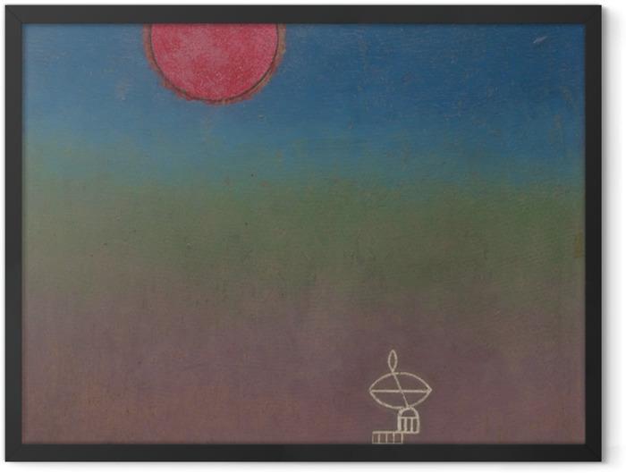 Poster en cadre Vassily Kandinsky - Loin - Reproductions