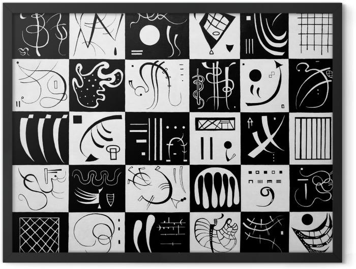 Plakat w ramie Wassily Kandinsky - Trzydzieści - Reprodukcje