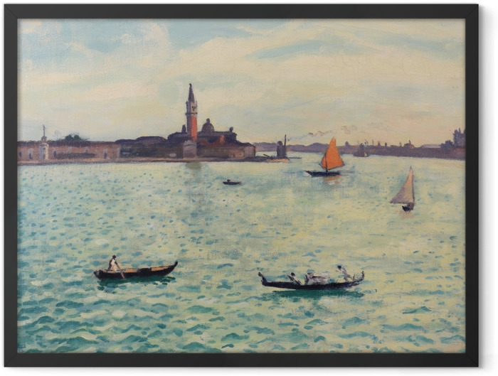 Gerahmtes Poster Albert Marquet - Venedig - Reproductions