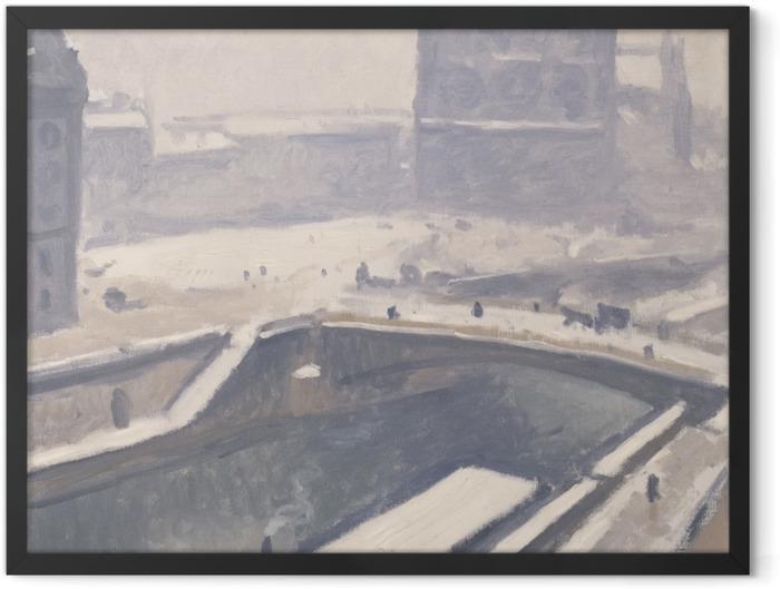 Gerahmtes Poster Albert Marquet - Blick auf Notre-Dame - Reproductions