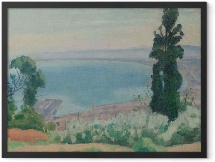 Plakat w ramie Albert Marquet - Zatoka Algierska, widok od strony El-Biar - Reproductions