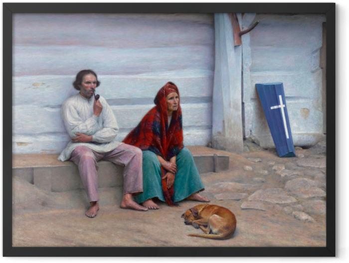 Poster en cadre Aleksander Gierymski - Cercueil paysan - Reproductions