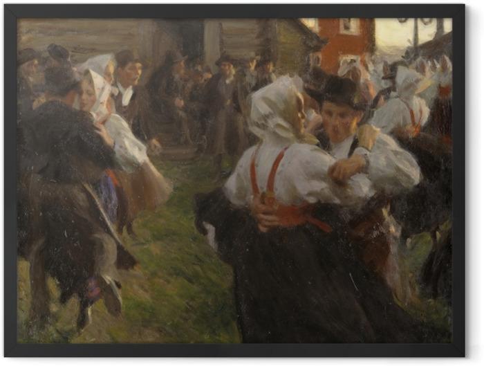 Poster en cadre Anders Zorn - Danse d'été - Reproductions