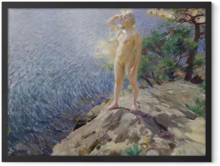 Plakat w ramie Anders Zorn - Wśród szkierów - Reproductions