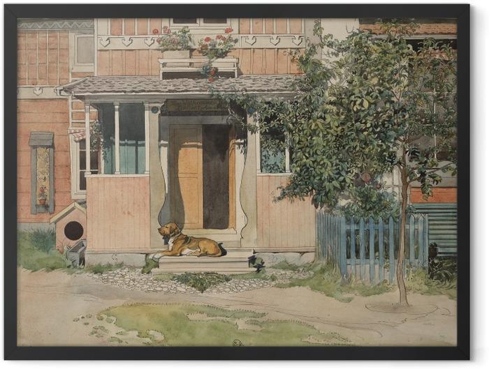 Gerahmtes Poster Carl Larsson - Veranda - Reproductions