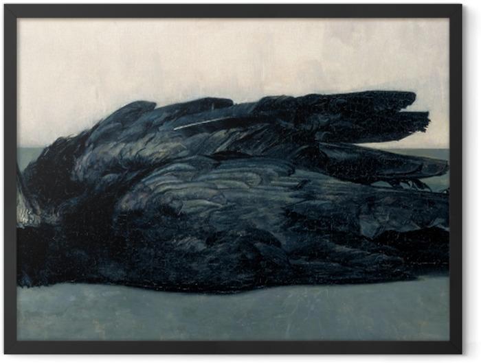 Gerahmtes Poster Floris Verster - Zwei tote Krähen - Reproductions
