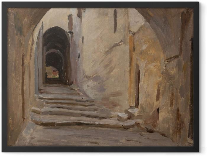 Plakat w ramie Jan Ciągliński - Jerozolima. Z podróży do Palestyny - Reproductions
