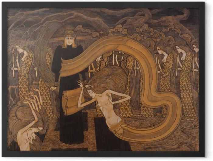 Gerahmtes Poster Jan Toorop - Fatalismus - Reproductions