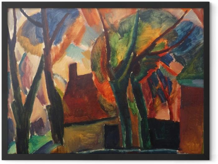 Plakat w ramie Leo Gestel - Gospodarstwo w Beemster - Reproductions