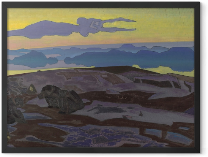 Poster en cadre Nicolas Roerich - Le verdict - Nicholas Roerich