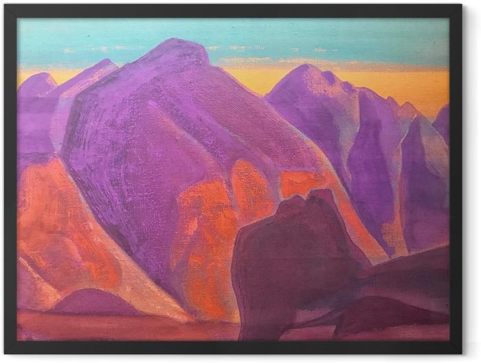 Poster en cadre Nicolas Roerich - Étude de montagne II - Nicholas Roerich
