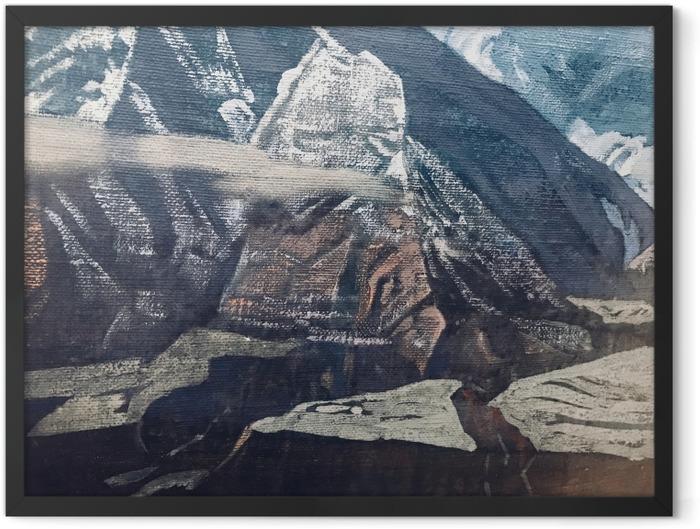 Plakat w ramie Nikołaj Roerich - Himalaje - Nicholas Roerich