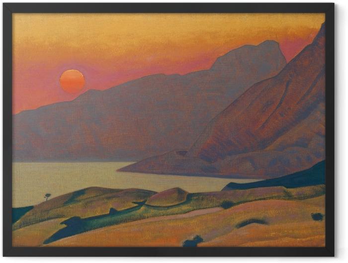 Plakat w ramie Nikołaj Roerich - Monhegan. Maine - Nicholas Roerich