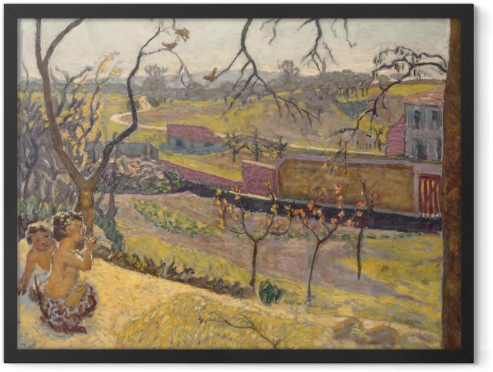 Plakat w ramie Pierre Bonnard - Wczesna wiosna. Fauniątka. - Reproductions