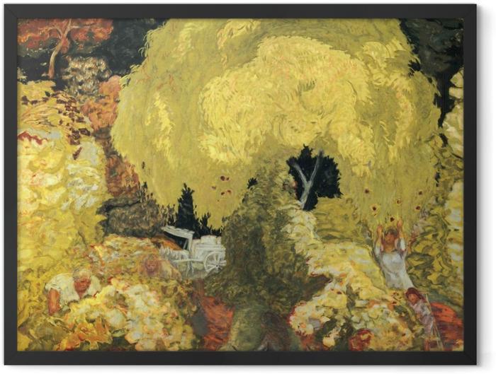 Poster en cadre Pierre Bonnard - Les cueilleurs de fruits - Reproductions