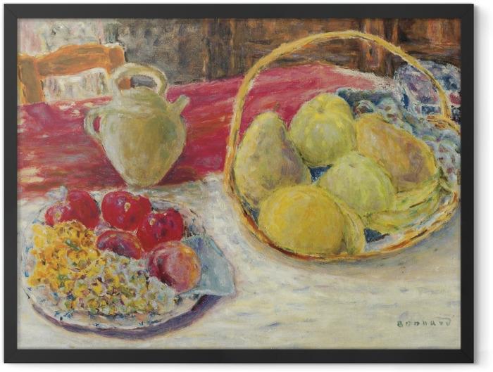 Plakat w ramie Pierre Bonnard - Martwa natura z owocami w słońcu - Reproductions