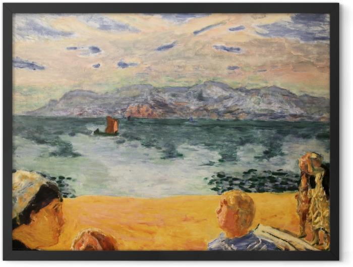 Gerahmtes Poster Pierre Bonnard - Paris. L'Esterel - Reproductions