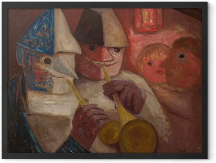 Gerahmtes Poster Tadeusz Makowski - Ball - Reproductions