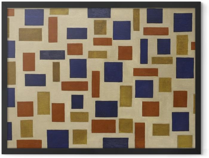 Gerahmtes Poster Theo van Doesburg - Komposition XI - Reproductions
