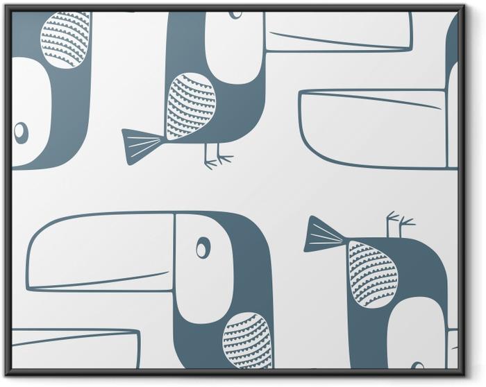 Toucans - Kubem Studio Framed Poster - Contemporary artists