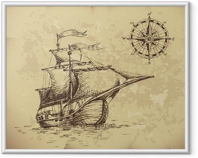 Sailboat Framed Poster