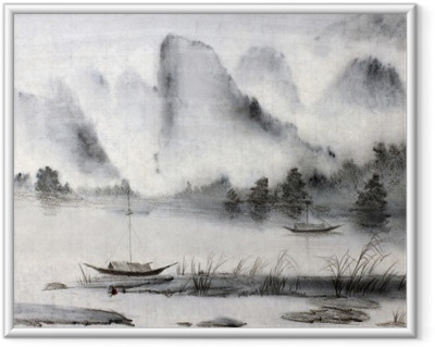 Chinese painting Framed Poster