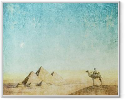 vintage background Framed Picture