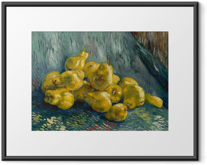 Vincent van Gogh - Still life with quinces Framed Poster - Reproductions