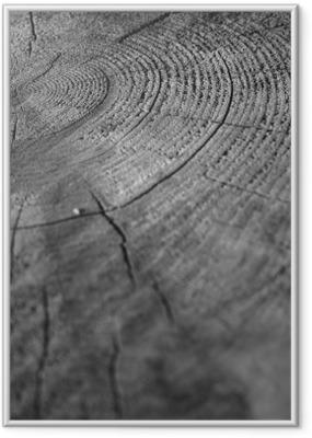 Poster en cadre De bois