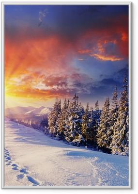 Poster i Ram Vinter