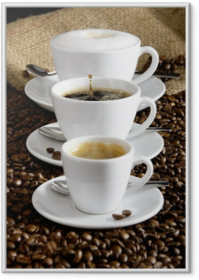 Kaffee Framed Poster