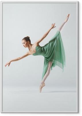 Poster en cadre Le danseur - Thèmes