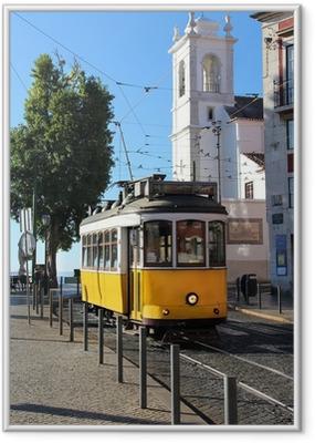 Poster en cadre Tramway lisbon