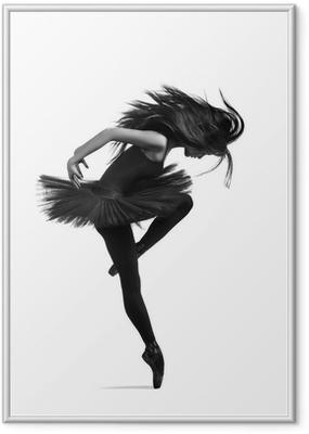 Poster en cadre Le danseur