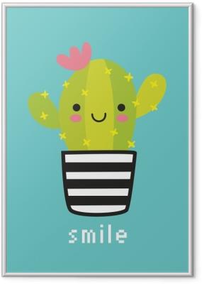 Poster en cadre Smile