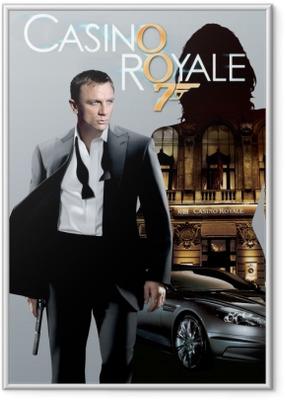 Gerahmtes Poster James Bond