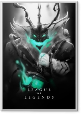 Thresh - League of Legends Framed Poster
