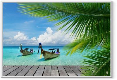 Poster i Ram Tropiska hav