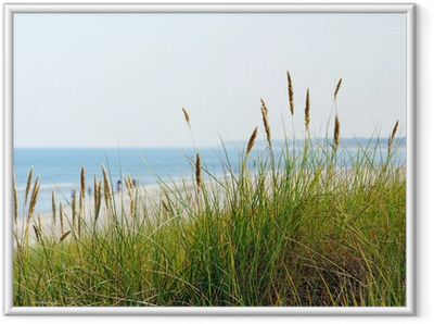 Gerahmtes Poster Am Meer - Am Strand