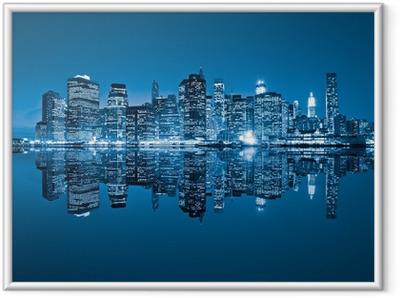 Manhattan, New York City. USA. Framed Poster