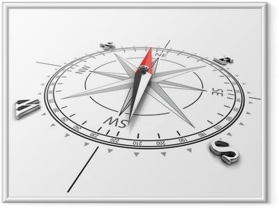 Ingelijste Poster Compass