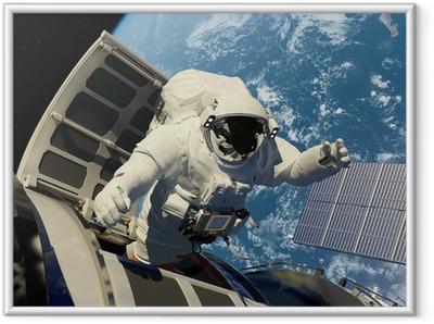 Ingelijste Poster Toegang tot de ruimte.