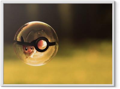 Plakat w ramie Pokemony